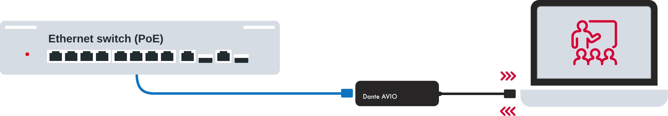 Dante AVIO USB C